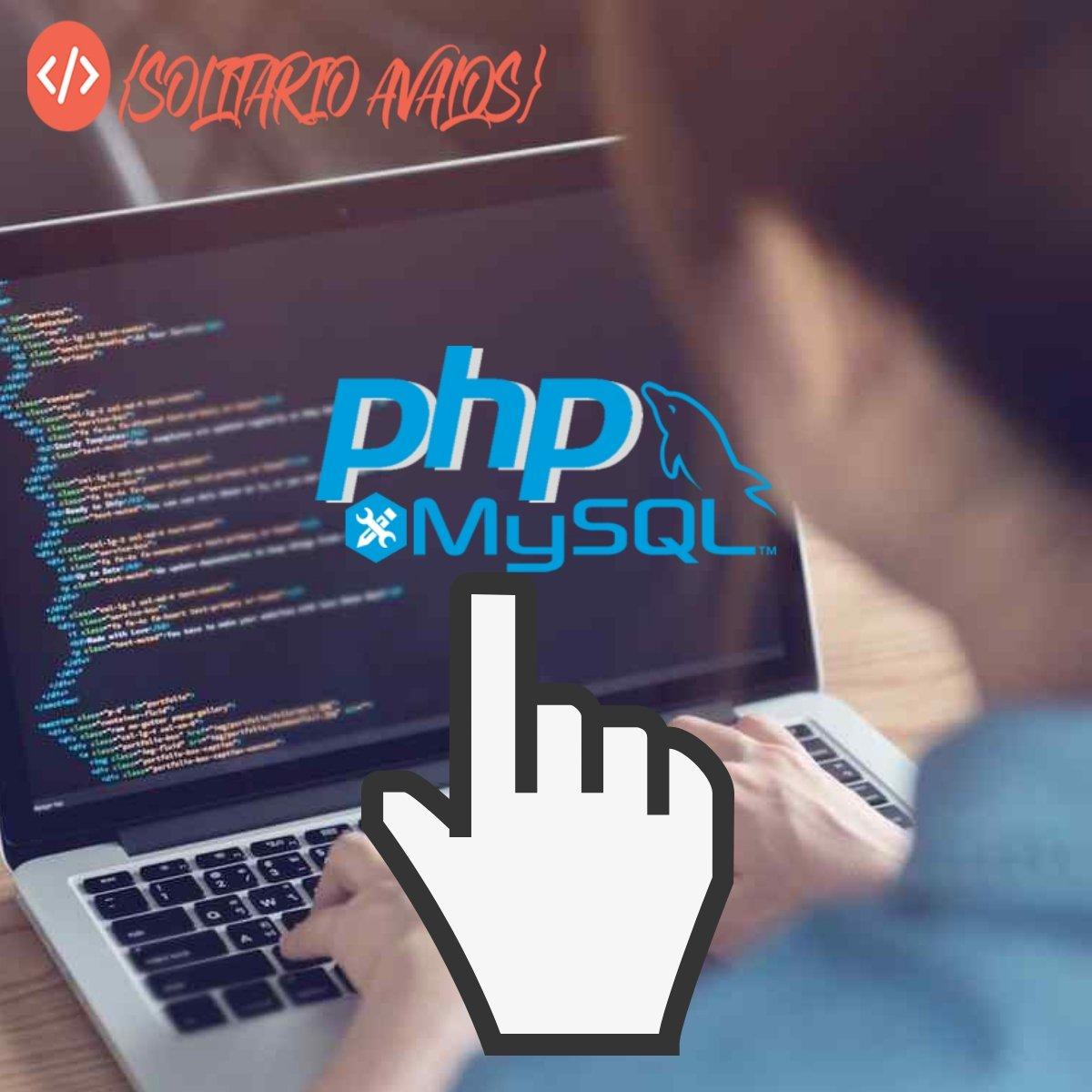 aprender mysql con php