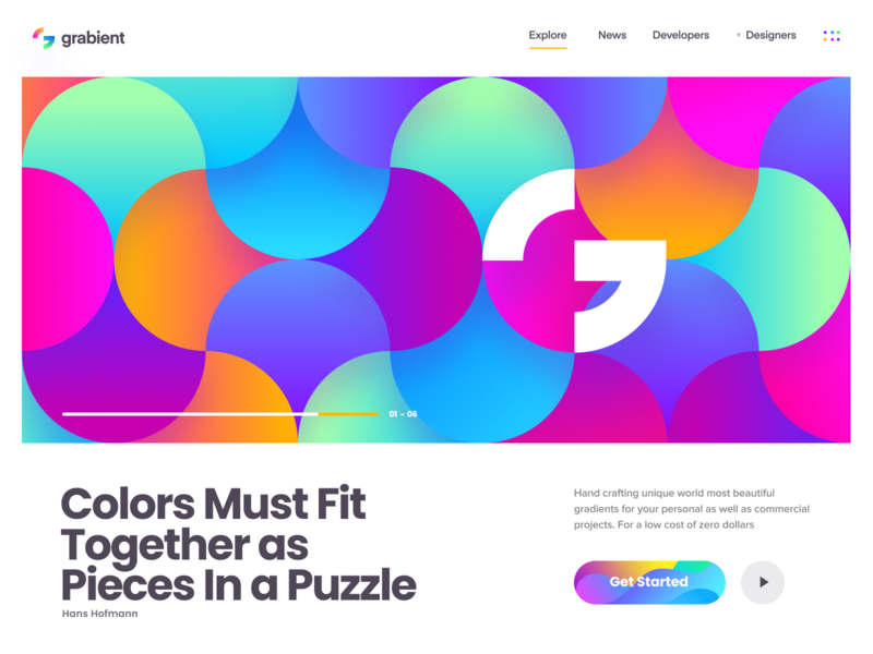 tendencia de diseño web